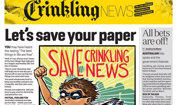 crinkling news
