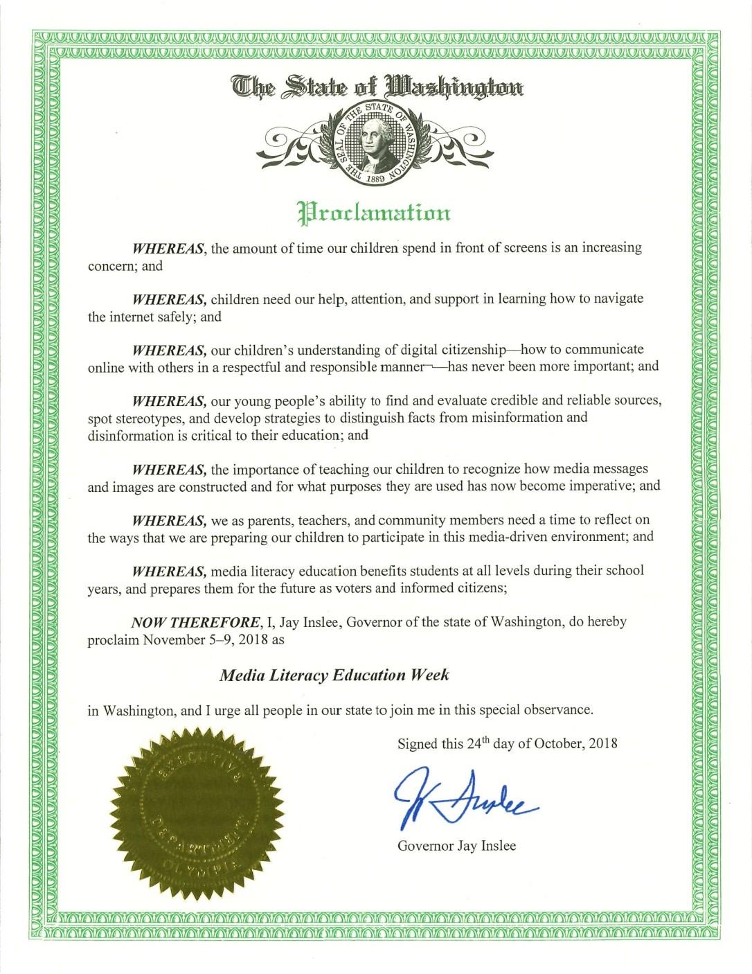 Governor's Proclamation ML Week 2018.jpg